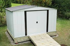 Home Depot Storage Sheds Metal by Building A Metal Shed The Home Depot Canada