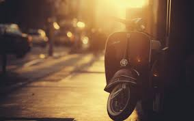 Scooters Bokeh Vespa HD Wallpaper Desktop Background