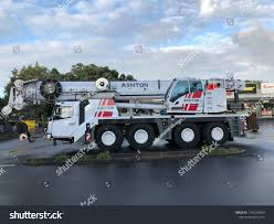 AUCKLAND Mar 14 Stiff Boom Truck Stock Photo (Edit Now) 1144258409 ...