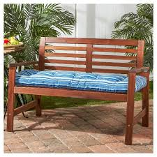 Greendale Home Fashions 51 X 18 In Outdoor Bench Cushion