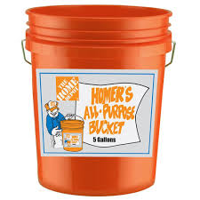 Mcdonalds Halloween Buckets Commercial by The Home Depot 5 Gal Homer Bucket 05glhd2 The Home Depot
