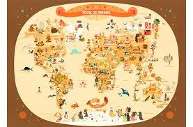 Five Beautiful World Maps For Kids Rooms