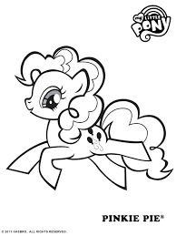 My Little Pony Coloring Pages Pinkie Pie 2512560