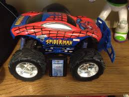 Best Tyco Spider-man Monster Jam Truck For Sale In Dekalb County ... Monster Jam Puff Pillow Truck Spiderman Spiderman Truck Adventure Toy Building Zone Lightning Mcqueen Trouble Cars Cartoon For Kids With And The Us Postal Service Editorial Photography Image Seymour Wi August 4 Pulling Hardees Float With Star Blue Dinoco Mack Disney Mcqueen Spiderman Learn Color W Car And Fun Supheroes Fire Bigfoot Monster S Teaching Numbers To Learning Hot Wheels Jam Vehicle Shop Skin Kenworth Tractor American Simulator Man Wearing A Spiderman Costume Haing On Refight Truck Marvel Playset 4000 Hamleys Toys Games