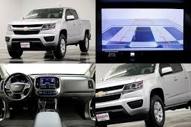 100 Used Colorado Truck OneOwner 2019 Chevrolet 4WD LT Crew Cab Camera Silver