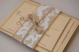 Diy Burlap And Lace Wedding Invitations Vintage To Inspire You Elite Best