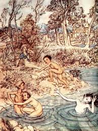 Illustration By Helen Stratton From The Book The Little Mermaid