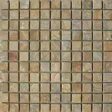 golden sand square small tiles mosaic tiles