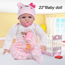 Little Babies Toy Soft Vinyl Silicone Body Newborn Baby Doll Toy