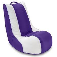 Wireless Gaming Chair Walmart by Furniture Bean Bag Game Chairs Walmart In White And Purple For