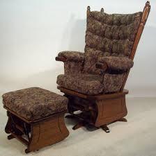Swivel Rocking Chair Ottoman — Fredericbye Home Decor : The ...