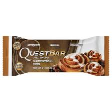 Quest Bar Cinnamon Roll Flavor Protein 212 Oz Pack Of 12