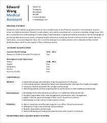 Entry Level Medical Assistant Resume Objective Examples Job Student