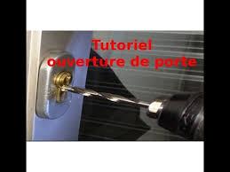 comment ouvrir une porte de chambre sans clé tutoriel ouverture de porte comment ouvrir un cylindre de serrure