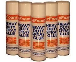500ml heavy duty spray adhesive glue for foam carpet tile craft