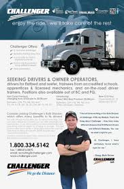 Challenger Motor Freight - Truck News How Truck Drivers Can Stay Healthier On The Road Driver A Trucker Earn Over 100k Uckerstraing Want Life Open Heres What Its Like To Be Westtransauto Inc Columbia Missouri Accident Lawyers Bley Evans The Best Blogs For Truckers Follow Ez Invoice Factoring Latest Driver Cited In Crash With Driverless Bus New Preowned Chevy Buick Dealership Woodstock Il Driving Jobs Veterans Get Hired Today Gi To Expect During Class A Cdl Traing School Why I Always Wanted Willem Henri Lucas