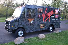 View Of The Virgin Mobile Food Truck Which Was Used To Display ... Hot Dog Ice Cream Food Cart Ccession Trailermini Truck Foodused Used Trucks For Sale Cheap Acceptable Roadstoves For New Nationwide Nra Show Serves Up Feast Of Food Trucks Management Tools And Truck Sale Craigslist Google Search Mobile Love Trailers Junk Mail Ccession Trailer And Food Truck Gallery Advanced Trailers Chevy In Ohio Built Tampa Bay Sj Fabrications San Diego 20 Ft Nation Wkhorse Jersey