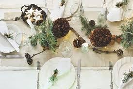 tischdeko für die weihnachtstafel comanta esstisch informiert