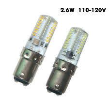 ba15d led bulb bayonet sewing machine light 4w cool warm