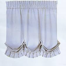 Boscovs Window Curtains by Jessica Voile Sheer Balloon Shade 60x63 Boscov U0027s