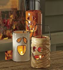 Halloween Yard Stake Lights by Spooky And Creative Outdoor Halloween Decorating Ideas
