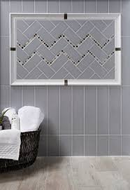 h line denim ceramic tiles modern bathroom los angeles by