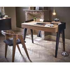 bureau bois design the walnut desk pablo savelon meubles design