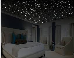 Glow In The Dark Stars Romantic Bedroom Decor Gift For Ceiling