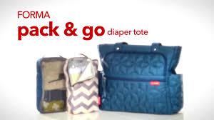 Babyhome Bed Rail by Skip Hop Forma Pack U0026 Go Diaper Tote In Black Buybuy Baby