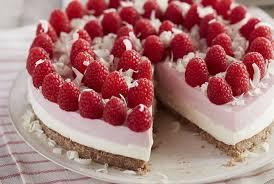 Homemade cheese with raspberry cake recipes