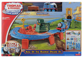 Thomas The Train Tidmouth Sheds Playset by Image Motorizedrailwaykingoftherailwaydeluxesetbox Jpg Thomas