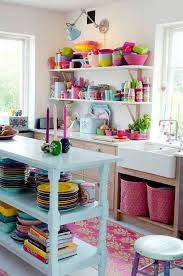 Colorful Kitchen Would Never Do This But It