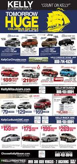 100 Kelly Car And Truck Auto Columbus Day Newspaper Ad Automotive Print