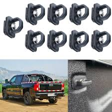 100 Truck Bed Parts Car Tie Down Anchor Side Wall Anchors For GMC Sierra