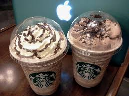 Starbucks Double Chocolate Chip Frappuccino Blended Beverage Mocha Cookie Crumble Frappucino