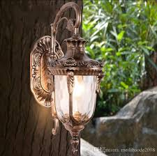 2018 outdoor retro wall l light classic vintage waterproof wall