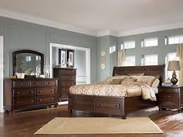 Ashley Furniture B697 Porter Queen or King Sleigh Storage Bed