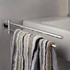 grohe essentials cube der handtuchhalter ist 2 armig und