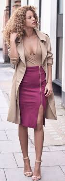 Pencil Skirt Outfits 40