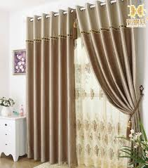 Living Room Curtain Ideas 2014 by Coffe Color Simple Curtains For Beautiful Living Room Or Bedroom