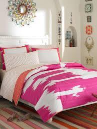 bedroom cheerful pink bedroom design and decoration