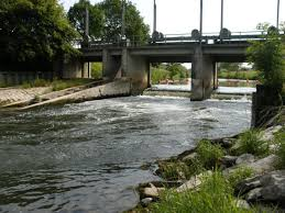 100 Water Bridge Germany Weir 1 Lippe River Dam Removal Europe