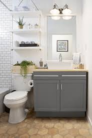 Narrow Bathroom Floor Storage by 11 Easy Ways To Make Your Rental Bathroom Look Stylish Rental