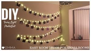 DIY Fairy Light Wall Polaroid Room Decor Tumblr CC