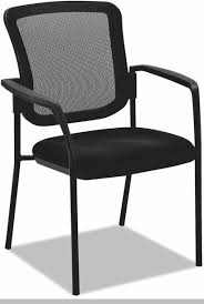 Alera Mesh Office Chairs by Alera Es Series Black Mesh Stacking Arm Chairs With Plastic Arms