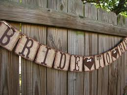 Bride To Be Banner Rustic Burlap Wedding Garland Engagement Decoration Miss Mrs Party Bridal Shower Decor