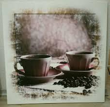 kaffee cappuccino holz bild küche