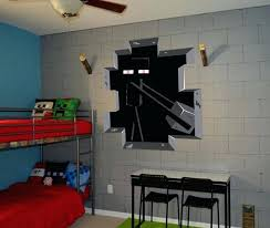 Minecraft Bedroom Theme Style Wall Decal Poster Sticker Room