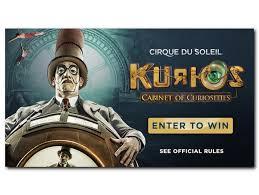 Kurios Cabinet Of Curiosities Portland by Kgw U0027s Kurios By Cirque Du Soleil Sweepstakes Kgw Com