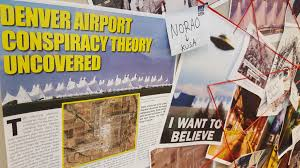 Denver Airport Conspiracy Murals Location by Denver Int U0027l Airport On Twitter